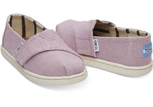 TOMS Classic  Soft Lilac Heritage Canvas