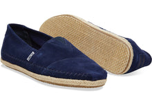Load image into Gallery viewer, TOMS Classic Navy Suede