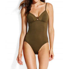Load image into Gallery viewer, Seafolly Quilted Maillot