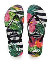 Load image into Gallery viewer, Havaianas Slim Tropical Floral 4139406.F22