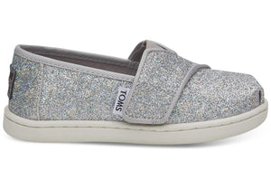 TOMS Tiny Classic Silver Iridescent Glimmer