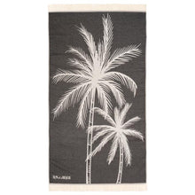 Load image into Gallery viewer, Feather Beach Towel Palm Beach