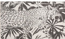 Load image into Gallery viewer, Feather Beach Towel Jungle Leopard Black
