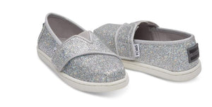TOMS Tiny Classic Silver Iridescent Glimmer 10011457
