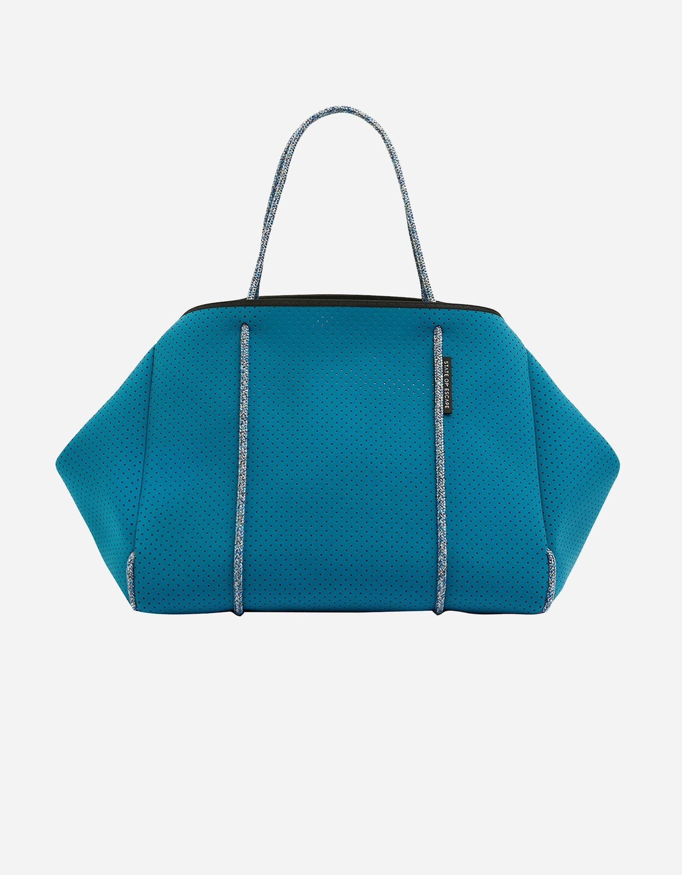 PRE ORDER // Escape™ tote in deep oceanic/sea glass (dual tone)