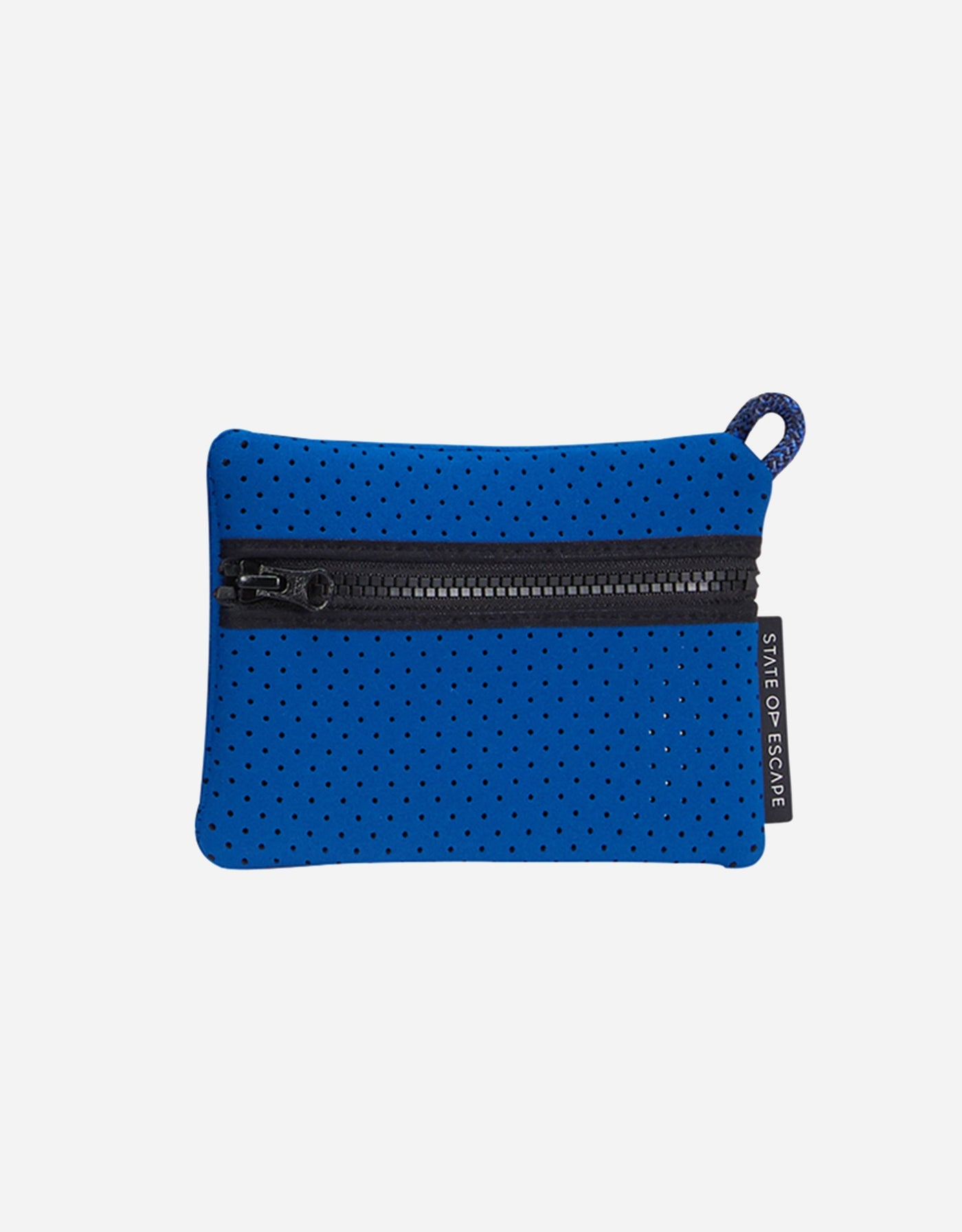 Escape tote in marine blue