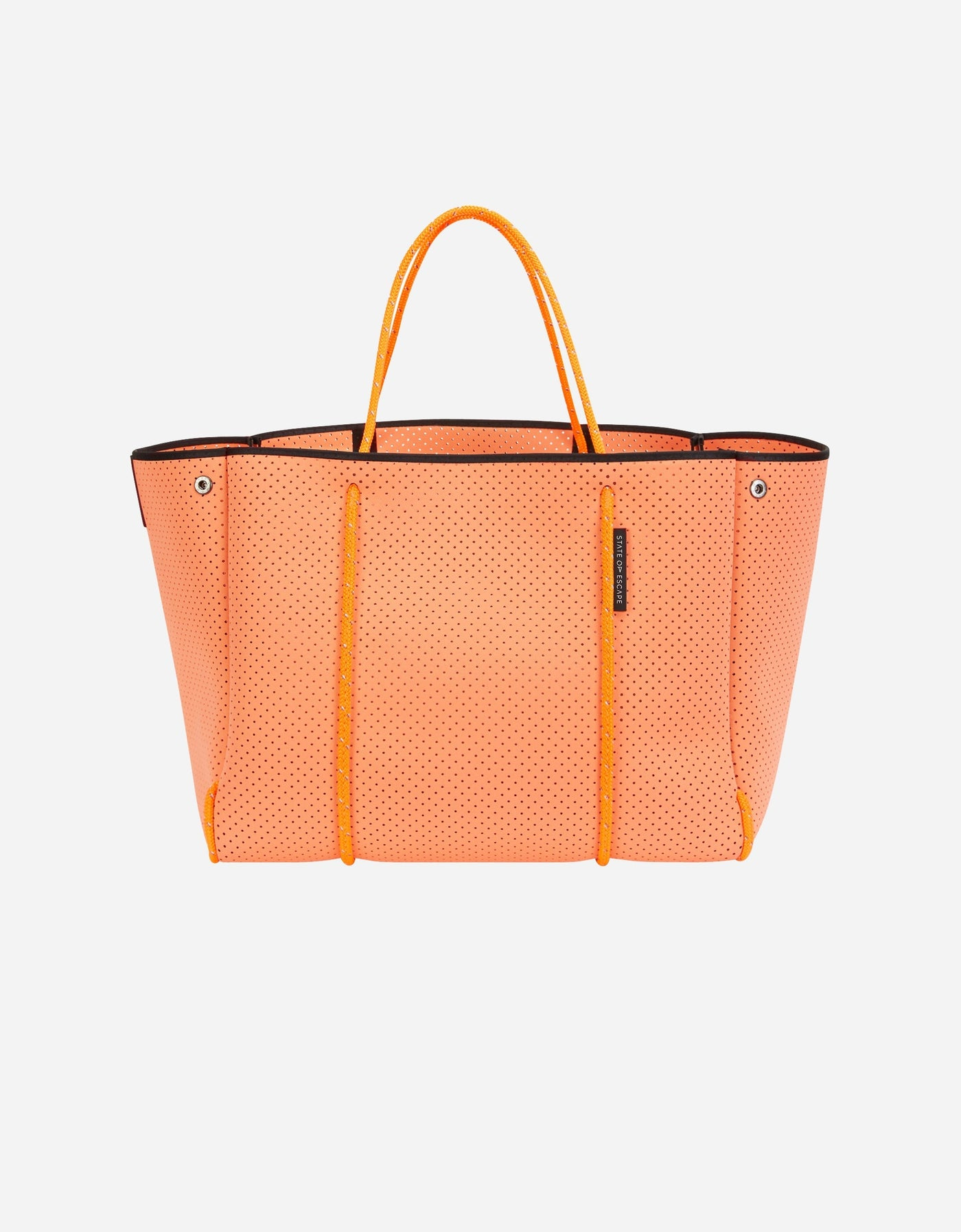 State of Escape x Olympia escape tote in sunset
