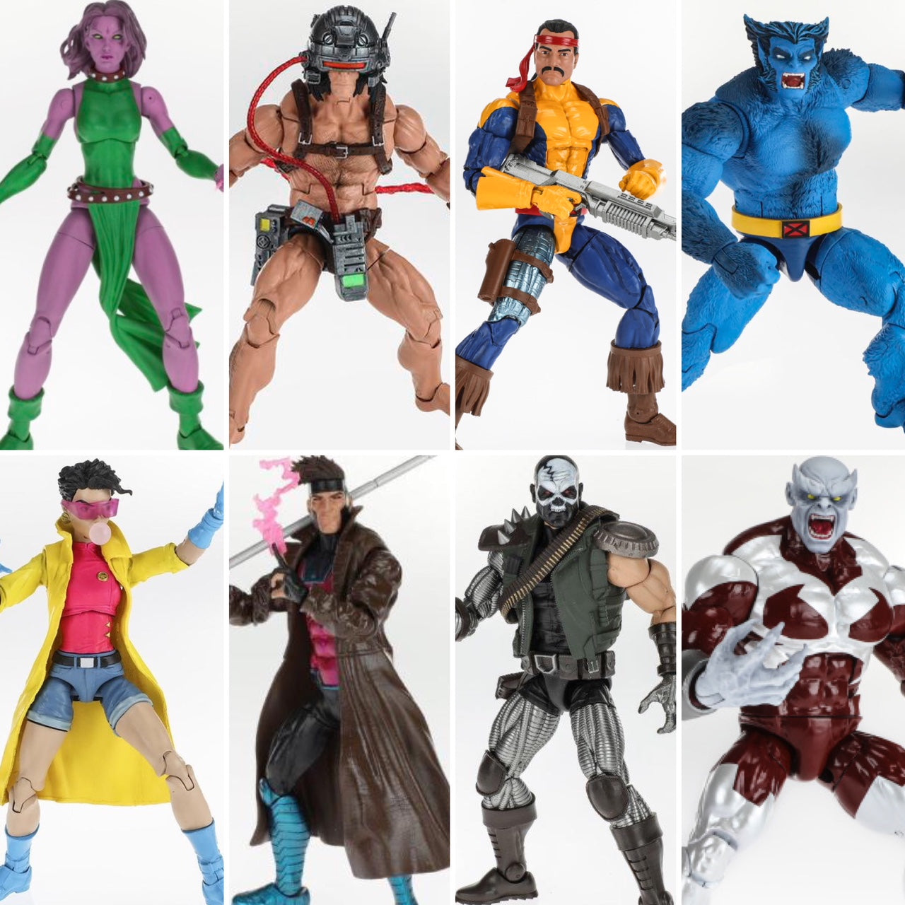 "Marvel Legends X-Men Wave 1 2018 APOCALYPSE BAF MULTIPLE MAN 6/"" Figure In STOCK"