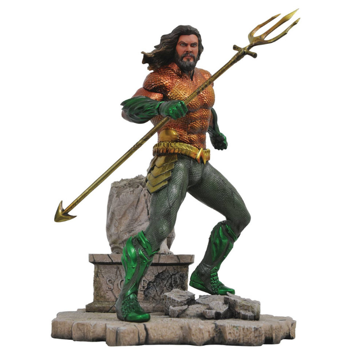 Aquaman Movie Gallery Aquaman Statue by Diamond Select Toys