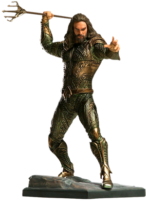 Justice League Movie: Aquaman 1:10th Art Scale Statue by Iron Studios