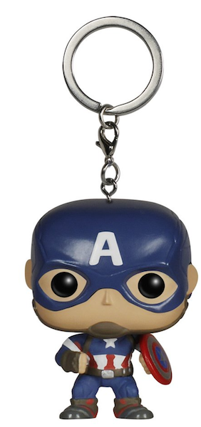 Avengers Age of Ultron: Captain America Pocket Pop! Vinyl Keychain by Funko