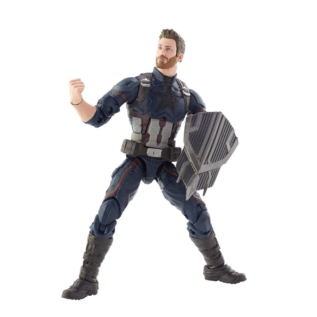 Best of Marvel Legends Captain America Figure by Hasbro -Hasbro - India - www.superherotoystore.com