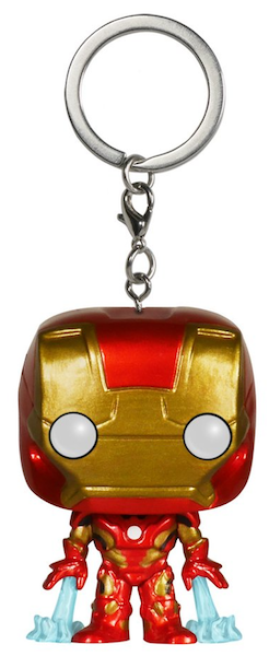 Avengers Age of Ultron: Iron Man Pocket Pop! Vinyl Keychain by Funko