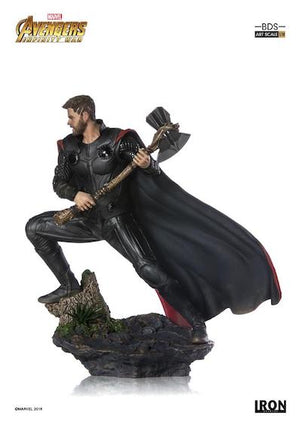 Avengers Infinity War Thor 1:10th Art Scale Statue by Iron Studios