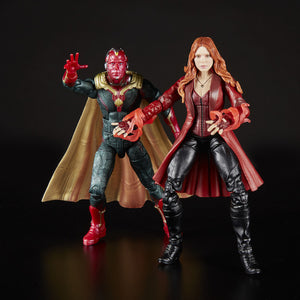 Avengers Infinity War Marvel Legends Scarlet Witch and Vision 2 Pack by Hasbro