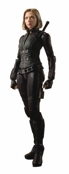 Avengers Infinity War: S.H. Figuarts Black Widow Figure by Bandai