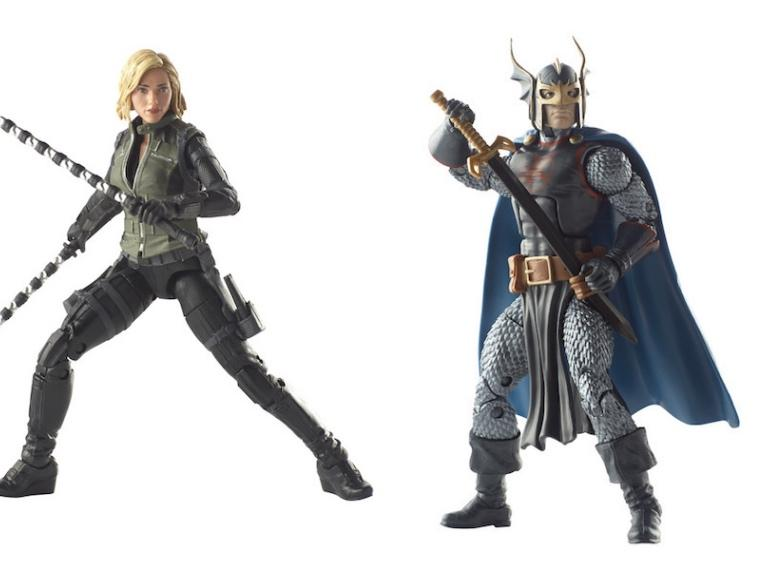 Avengers Marvel Legends Black Widow and Black Knight 2 Pack by Hasbro