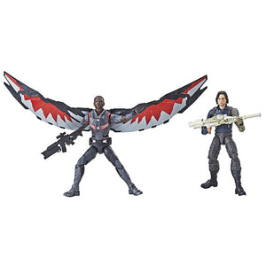 Avengers Infinity War Marvel Legends Winter Soldier and Falcon 2 Pack by Hasbro