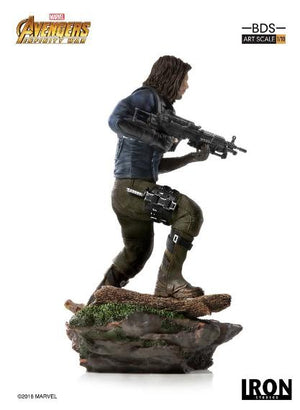 Avengers Infinity War Winter Soldier 1:10th Art Scale Statue by Iron Studios
