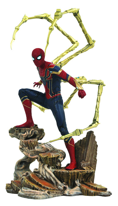 Avengers Infinity War Gallery Iron Spider Statue by Diamond Select Toys -Diamond Select toys - India - www.superherotoystore.com