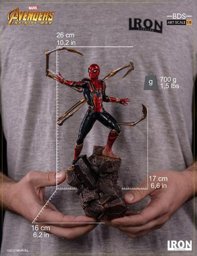 Avengers Infinity War Iron Spider 1:10th Art Scale Statue by Iron Studios -Iron Studios - India - www.superherotoystore.com