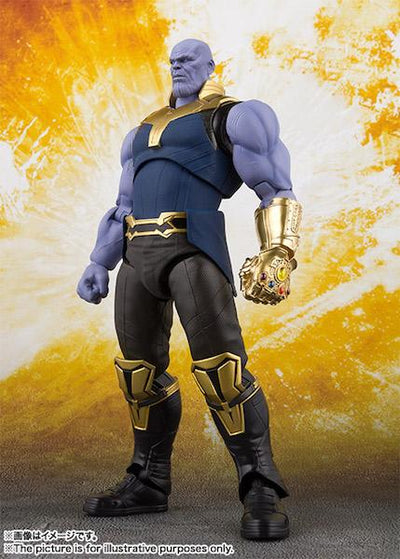 Avengers Infinity War: Thanos Figure by SH Figuarts -SH Figuarts - India - www.superherotoystore.com