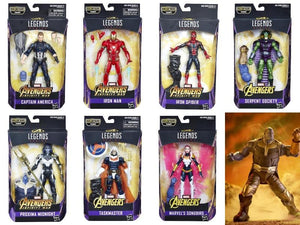Avengers Infinity War: Marvel Legends: 7-Pack Thanos BAF by Hasbro
