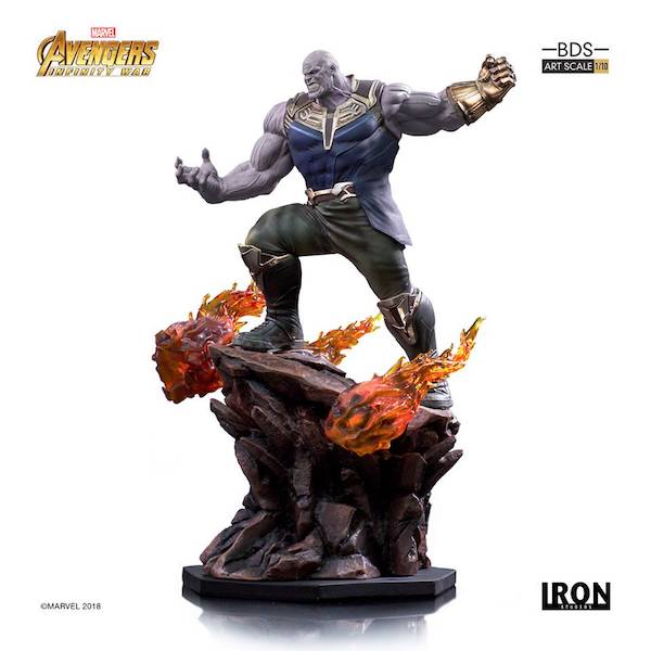 Avengers Infinity War: Thanos 1:10 Art Scale Statue by Iron Studios -Iron Studios - India - www.superherotoystore.com
