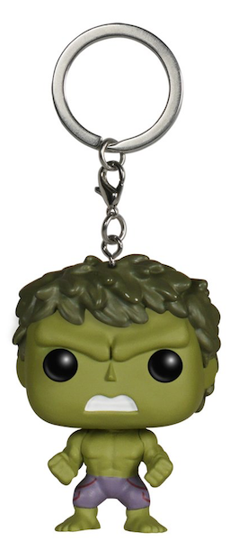 Avengers Age of Ultron: Hulk Pocket Pop! Vinyl Keychain by Funko