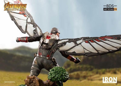 Avengers Infinity War Falcon 1:10th Art Scale Statue by Iron Studios