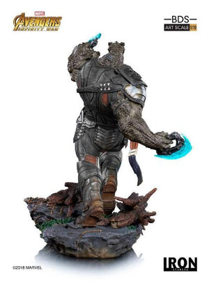 Avengers Infinity War Cull Obsidian 1:10th Art Scale Statue by Iron Studios