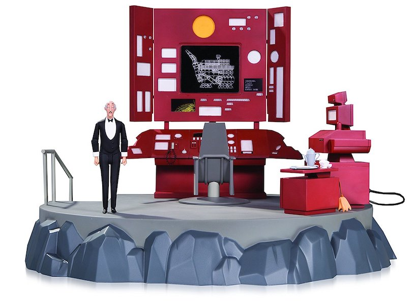 Batman Animated Series: Batcave With Alfred Action Figure by DC Collectibles