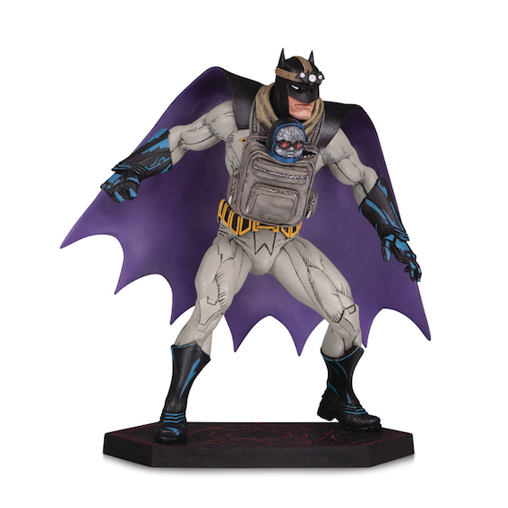Batman Dark Nights Metal Batman with Baby Darkseid Statue by DC Collectibles