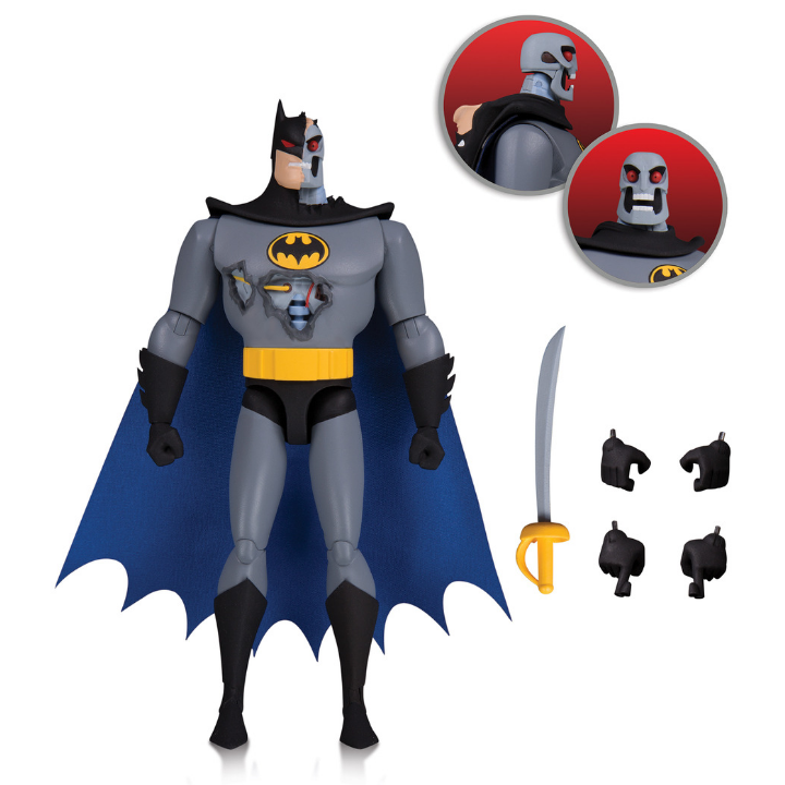 Batman The Animated Series Hardac Batman Figure by DC Collectibles