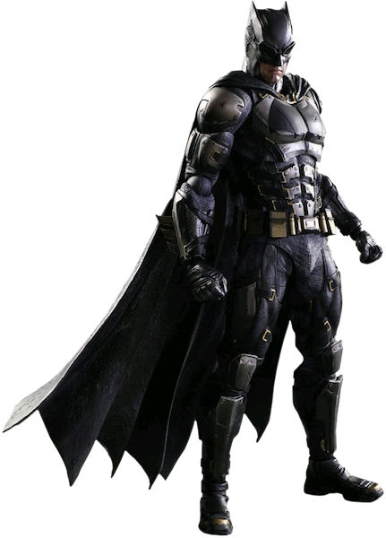 Justice League Movie: Tactical Suit Batman Play Arts Kai Figure by Square Enix