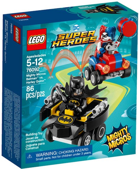 DC Superheros: Mighty Micros: Batman Vs Harley Quinn by Lego -Lego - India - www.superherotoystore.com