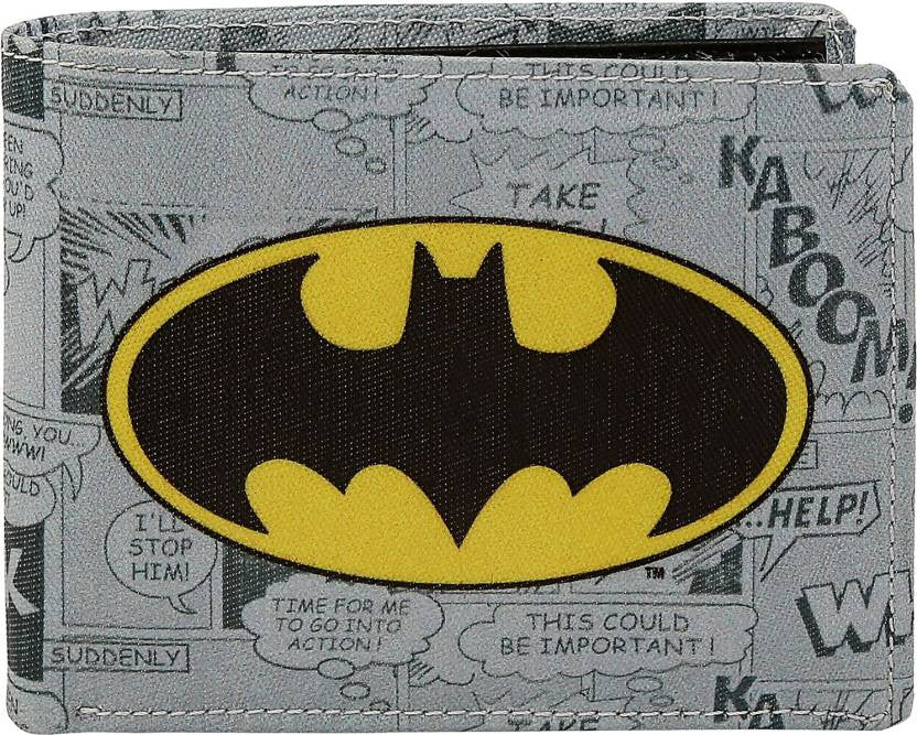 Batman Logo Bi-Fold Wallet by Bombay Merch