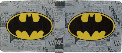 Batman Logo Bi-Fold Wallet by Bombay Merch -Bombaymerch - India - www.superherotoystore.com