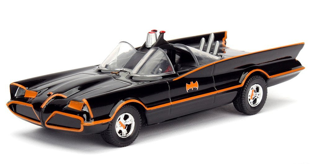 1966 Batman TV Series: 1:32 Scale Metal Die-cast Batmobile by Jada Toys -Jada Toys - India - www.superherotoystore.com