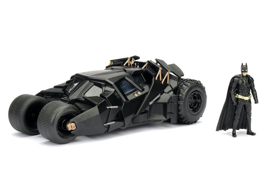 Batman: The Dark Knight Rises: 1:24 Scale Metal Die-cast Batmobile Tumbler by Jada Toys