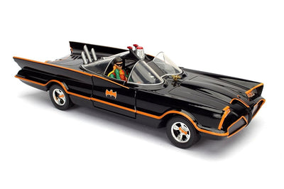 1966 Batman TV Series: 1:24 Scale Metal Die-cast Batmobile by Jada Toys -Jada Toys - India - www.superherotoystore.com