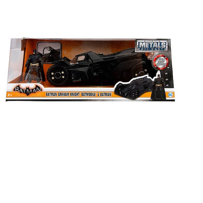 Batman Arkham Knight 1:24 Scale Die-Cast Batmobile and Batman by Jada Toys