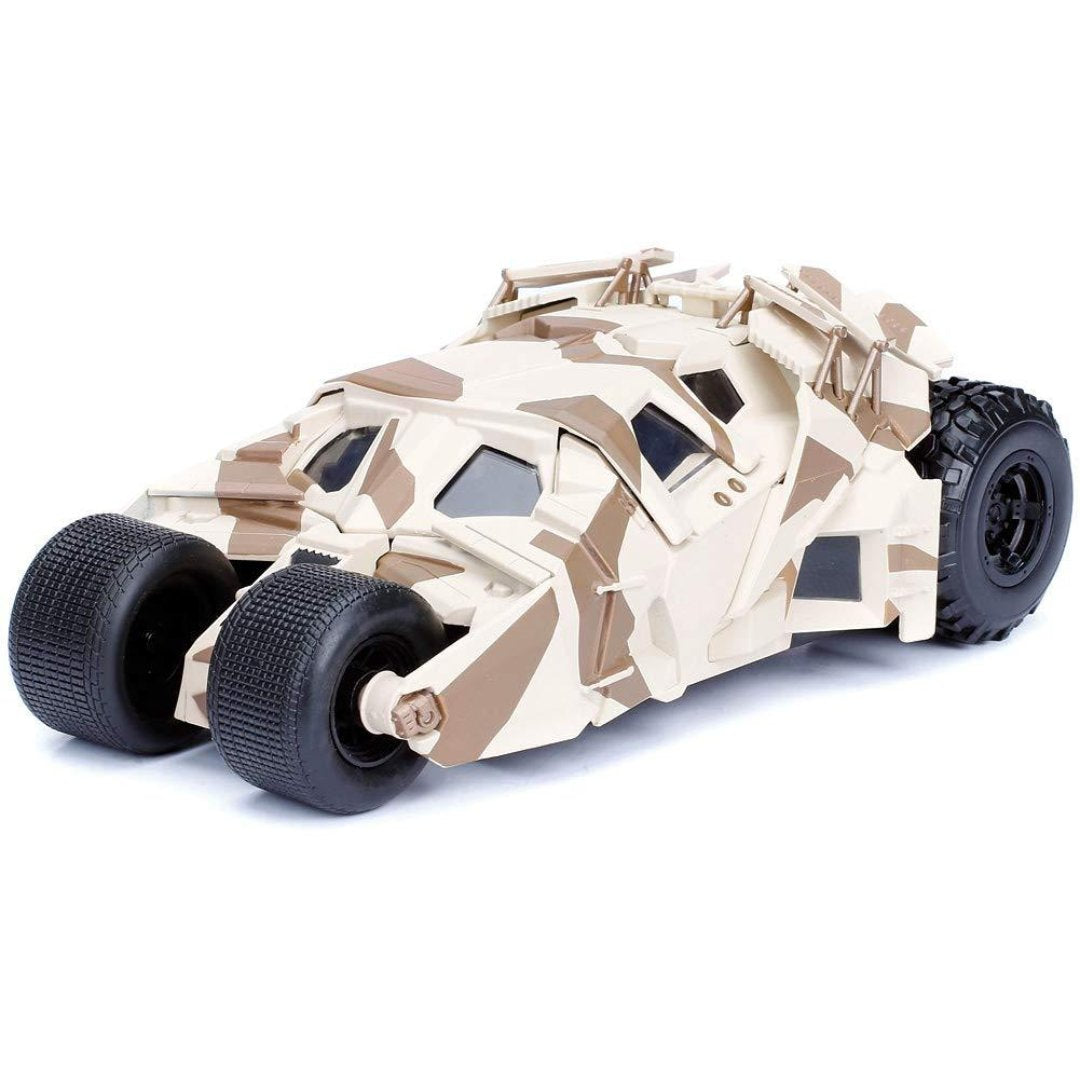 Batman The Dark Knight 1:24 Scale Metal Die-cast Camo Batmobile Tumbler by Jada Toys -Jada Toys - India - www.superherotoystore.com