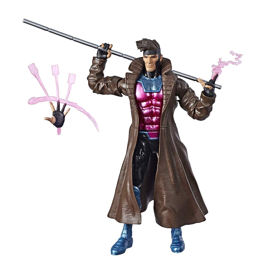 X-Men Marvel Legends Gambit Figure by Hasbro