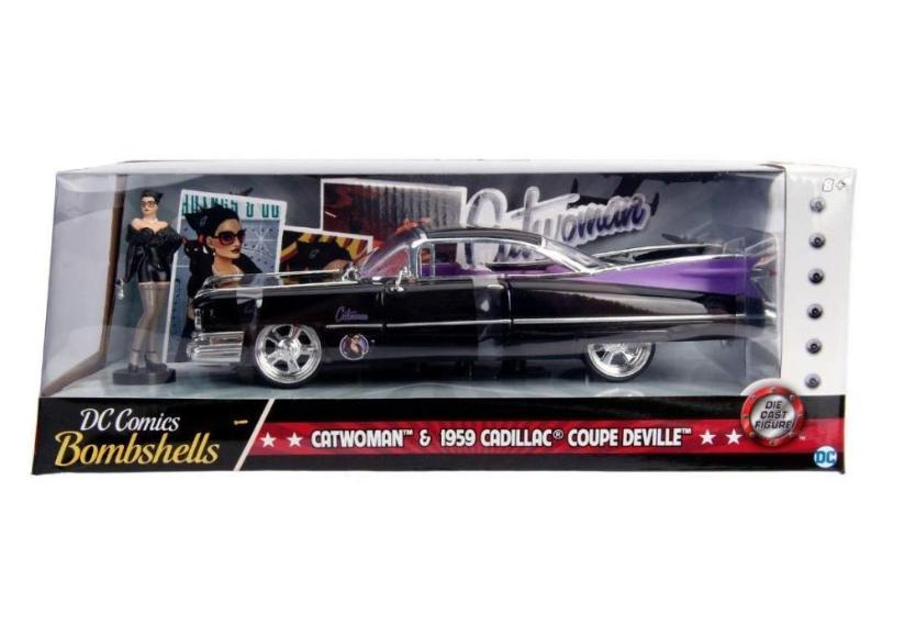 Catwoman Cadillac Coupe Deville Die Cast Car By Jada Toys Shop Now