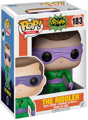 Batman TV Series the Riddler Pop! Vinyl Figure by Funko