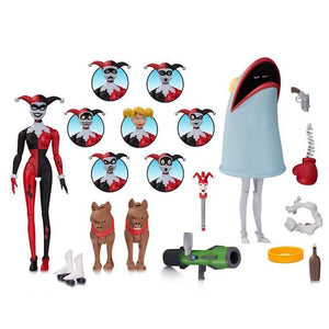 Batman Animated Series Harley Quinn Expressions Pack by DC Collectibles
