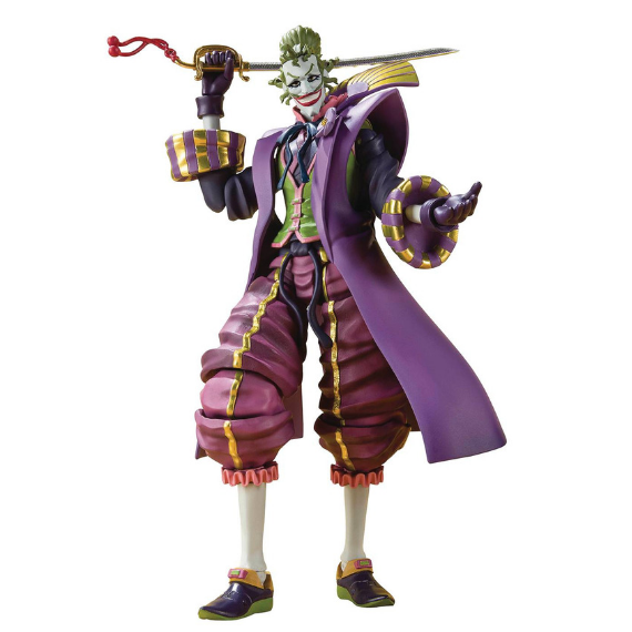 Batman Ninja The Joker Demon King of the Sixth Heaven Figure by SH Figuarts