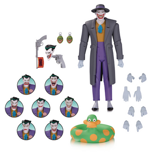 Batman Animated Series Joker Expressions Pack by DC Collectibles