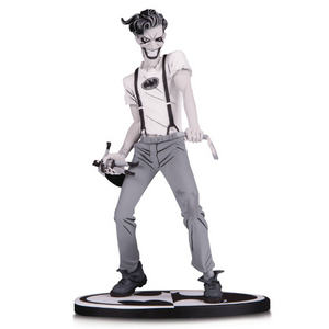 Batman Black and White: The White Knight Joker Statue by DC Collectibles